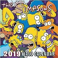 The Simpsons - 2019 Wall Calendar - 12x12 [並行輸入品]
