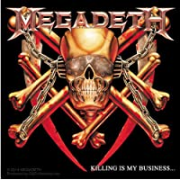 Licences Products Megadeth Killing Is My Business Sticker