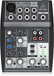 Behringer ベリンガー 5入力・1モノ+ステレオ出力コンパクトミキサー 502 XENYX