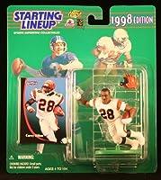 COREY DILLON / CINCINNATI BENGALS 1998 NFL Starting Lineup Action Figure & Exclusive NFL Collector Trading Card