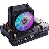 GeeekPi Raspberry Pi 4 Case with Raspberry Pi ICE Tower Fan RBG Cooling Fan, Raspberry Pi 4 Case with Fan Raspberry Pi Heatsi
