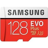Samsung EVO Plus Micro SD卡 128GB microSDXC UHS-I U3 100MB/s…