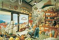300ピース ジグソーパズル ジョー&ロイ釣具店(26x38cm)