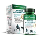 Muscle Accelerator by Purity Products - 650 mg RipFactor Patented & Clinically Tested Muscle Accelerator Blend of Ayurvedic H