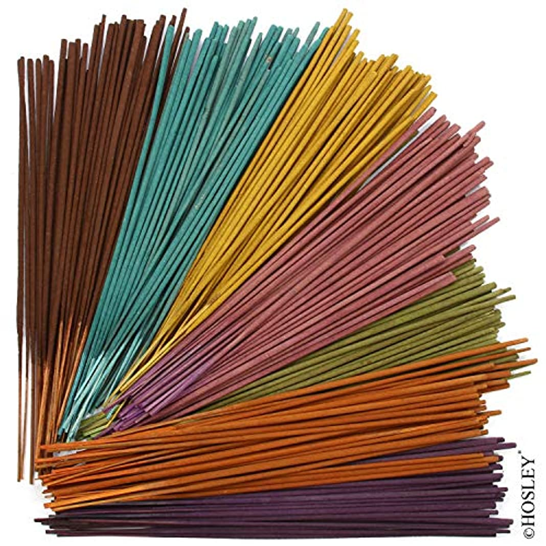 シチリア起こる驚かすHosley 3本セット 詰め合わせ お香 40本入り ホルダー付き それぞれ:トロピカルミスト、ラベンダー、ユーカリミント。 ご自宅、スパ、瞑想、アロマセラピーに最適です。
