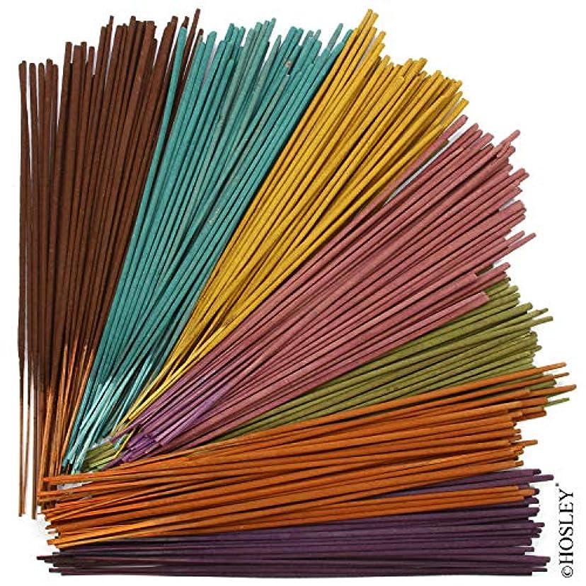 マッシュバルブお祝いHosley 3本セット 詰め合わせ お香 40本入り ホルダー付き それぞれ:トロピカルミスト、ラベンダー、ユーカリミント。 ご自宅、スパ、瞑想、アロマセラピーに最適です。