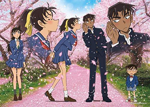 500ピース ジグソーパズル 名探偵コナン 桜舞う季節 (38x53cm)