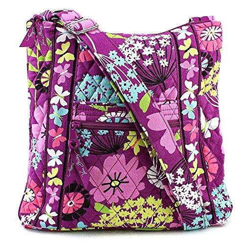 Vera Bradley (ヴェラブラッドリー) ヒップスター ショルダーバック ななめかけショルダーHipster Handbag【並行輸入】 (Flutterby) #11262-158