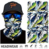 TEFITI Bandana Multifunctional Headwear UV Stretchable Versatile Sports Tube Casual Face Masks,Headbands,Wristband,Neck Gaiter(Men and Women)