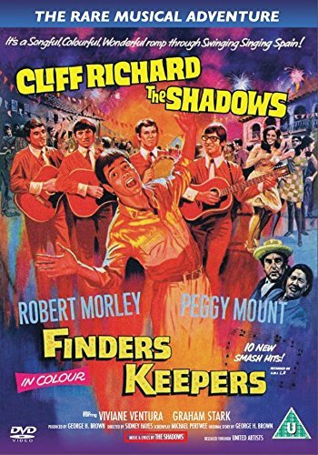 Finders Keepers (1966) UK DVD by Cliff Richard & The Shadows