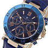 サルバトーレ マーラ クオーツ メンズ 腕時計 SM14118S-PGBL ブルー 腕時計 低価格帯ウォッチ サルバトーレマーラ mirai1-521965-ah [並行輸入品] [簡素パッケージ品]
