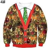angel3292 ファッション ラブリークリスマススタイル レディース プルオーバー ルーズ長袖スウェットトップ L 286132887347OQFHSKQHPC8MC