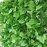Yaheetech 60 Packs X 2.4M Hanging Artificial Ivy Vine Home Garden Office Wedding Wall Decoration