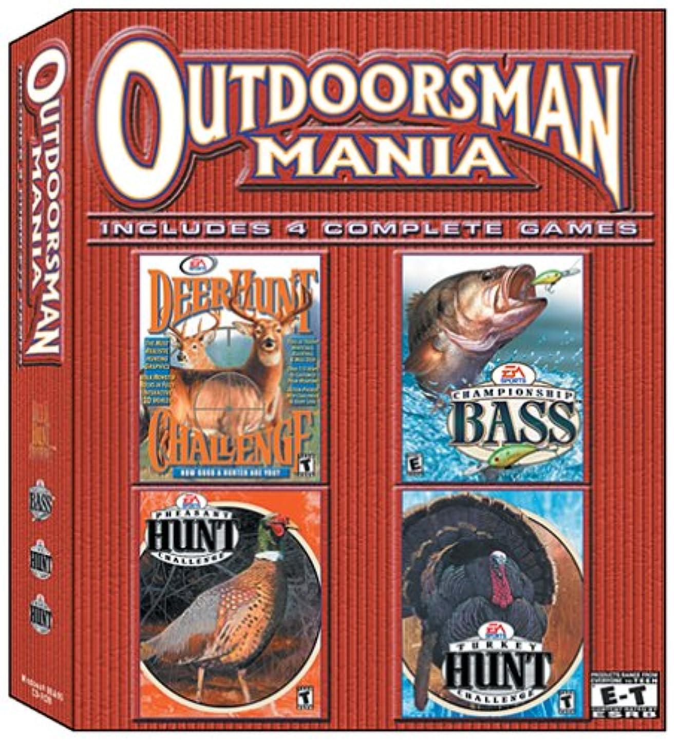 ボード極端なロールOutdoorsman Mania Pack (輸入版)