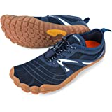 ALEADER Men's Minimalist Trail Running Shoes Barefoot | Wide Toe | Zero Drop
