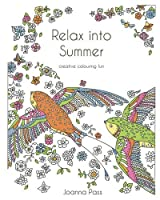 Relax into Summer: creative colouring fun (adult colouring books) [並行輸入品]