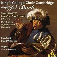 King's College Choir Sings J.S. Bach by King's College Choir Cambridge