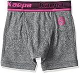 (ケイパ)Kaepa 男児 ボクサーブリーフ 無地 ワンポイント 前開き 926 35700 39 ダークグレー 130