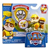 Spin Master 6022626 _ Rubble Action Figure - Pat Patrol - Ruben