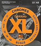【国内正規品】D'Addario ダダリオ エレキギター弦 フラットワウンド Extra Light (10-48) ECG-23 ECG23