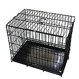 折畳み ペットケージ 60X43X49cm Mサイズ 【ダックスフンド 小型犬 猫】