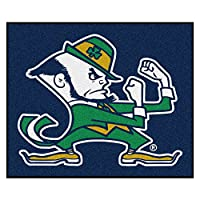 "Fanmats Notre Dame Fighting IrishナイロンRug 60""72"" 6041"