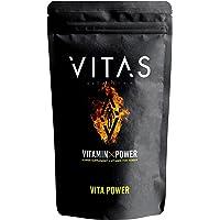 VITAS(バイタス) VITA POWER ビタパワー マカ 亜鉛 マルチビタミン 12種類の栄養機能食品 120粒…