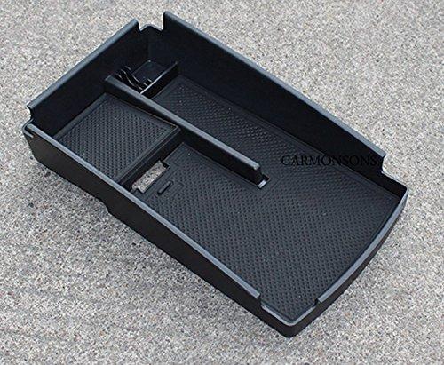 車のオーガナイザースーツ用vwフォルクスワーゲンccパサートb7 magotan b6 b7l中央アームレスト収納グローブホルダーコンテナトレイボックス