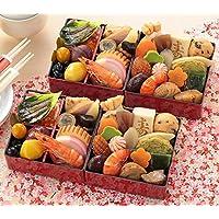 (12月30日着) 京菜味のむら おせち「京小箱」二段重 32品×二組