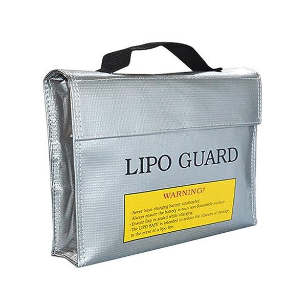 リポガード LiPo Guard Bag リポ バッテリー 保管 LiPo Bag セーフティーバッグ リポバッテリー袋 リポ バッテリー 保管 ケース 防爆バッグ LiPo Safe Bag
