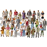 O Gauge Figures All Standing P4310-30-NUS 1:43 O Scale Model Trains Passengers 30 Different Poses People Model Railway for Mi
