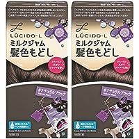【まとめ買い】LUCIDO-L (ルシードエル) ミルクジャム髪色もどし #ナチュラルブラック×2個パック(医薬部外品)