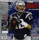 New England Patriots Tom Brady 2017 Calendar