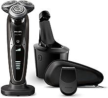 フィリップス 9000シリーズ メンズ 電気シェーバー 72枚刃 回転式 お風呂剃り & 丸洗い可 トリマー付 S9551/26