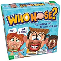 Who Nose Family Guessing Game: Try To Guess Which Of The 38 Different Faces You Have On - Ages 6+ [並行輸入品]