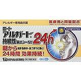【第2類医薬品】アルガード持続性鼻炎シールド24h 12カプセル ※セルフメディケーション税制対象商品