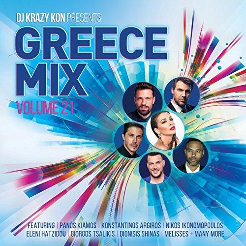 [画像:DJ Krazy Kon Pres Greece Mix Vol 21]