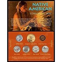 AmericanコインTreasures Native Americanコインコレクション