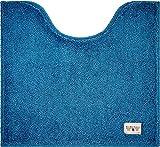 カラーモードプレミアム トイレマット 55×60cm ターコイズブルー