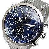 セイコー プロスペックス クロノ ソーラー メンズ 腕時計 SSC347P1 ネイビー