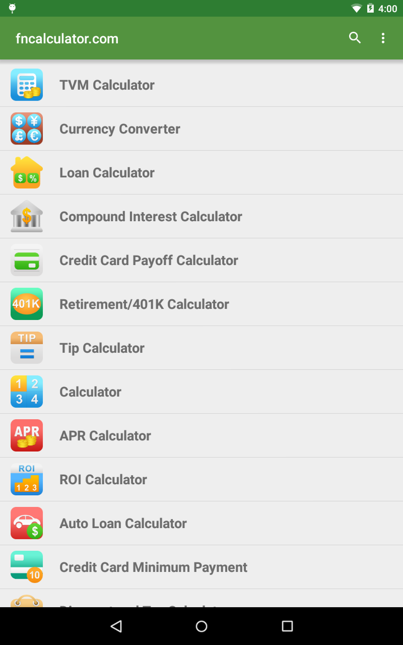 amazon co jp financial calculators android アプリストア