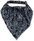 (ノットノット)NOTKNOT ワンタッチ アスコットタイ 065654-20000-9808 02 濃紺ベース、ブルー・パープルロゴ柄 FREE