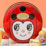 カファレル Caffarel チョコラティーノ缶 テントウムシ チョコレート 袋付き