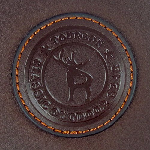 Tourbon本革製 ウエスト ライフルカートリッジバッグ ショットガンシェルホルダー マガジンポーチ(12ゲージ、16ゲージ、20ゲージ)