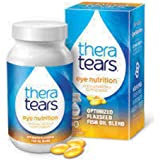 Thera Tears Nutrition Omega 3 Supplement With Vitamin E 90 Capsules