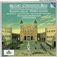 Mozart: Coronation Mass - Exsultate, Jubilate - Vesperae Solennes / Bonney, Wyn Rogers, MacDougall, Gadd; Pinnock (1994-11-22)