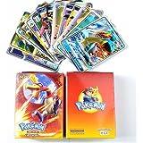 Pokemon Cards GX Cards EX MEGA Energy Trainer Cards 100 Pcs (89 GX+10 Trainer)