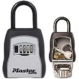 MASTER LOCK Portable Key Safe [Medium Size] - 5400EURD - Key Lock Box with Shackle