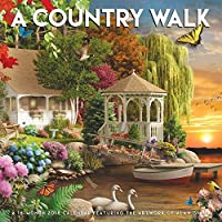 A Country Walk 2018 Wall Calendar [並行輸入品]