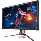 "ASUS ROG SWIFT PG27UQ 27"" 4K UHD (3840 x 2160) Gaming Monitor, Overclockable 144Hz, G-SYNC HDR, Quantum-dot , IPS, Aura Sync"